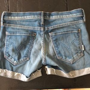Mother denim cut off shorts. Great condition.